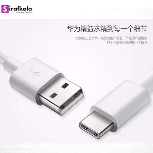 شارژر سریع و کابل تایپ سی هواوی Huawei Quick Charger Type C Cable