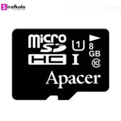 کارت حافظهی Apacer 8GB MicroSDHC UHS-I 85MBps Class10