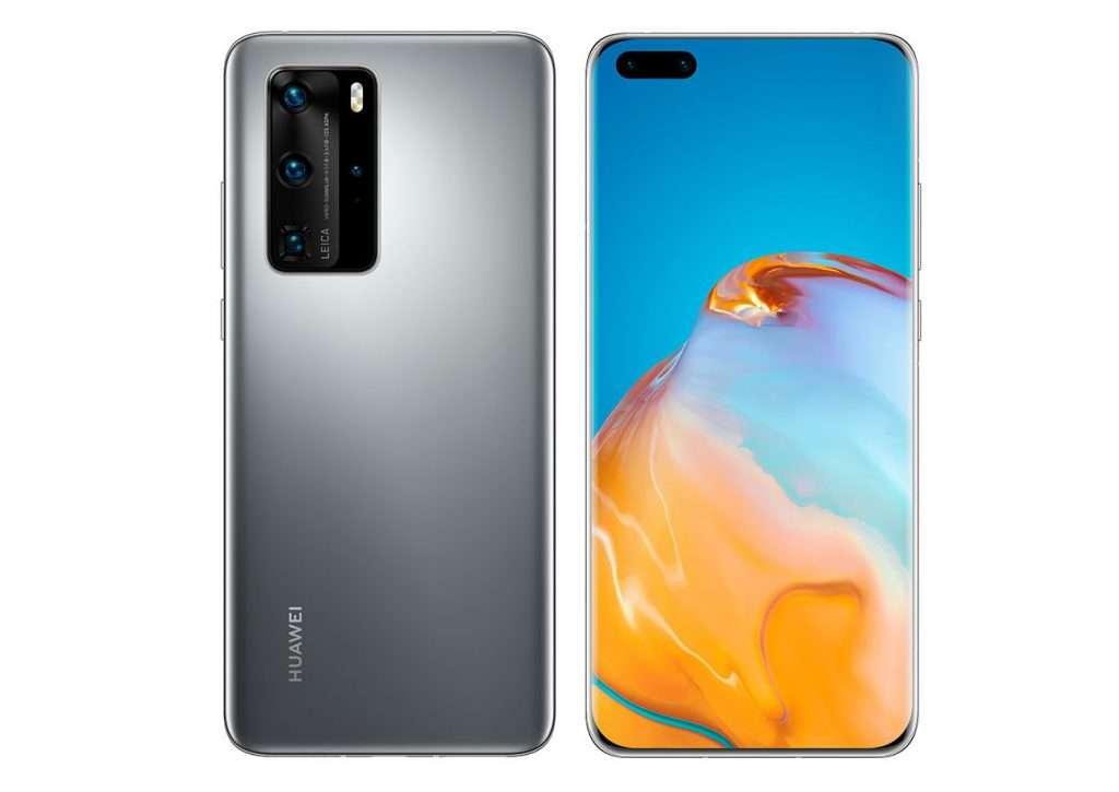 نمایی از Huawei P40 Pro